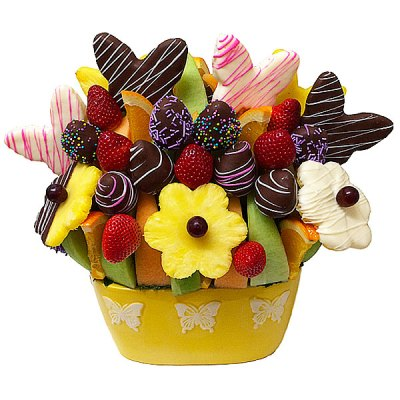 Butterfly Kisses Fruit Bouquet