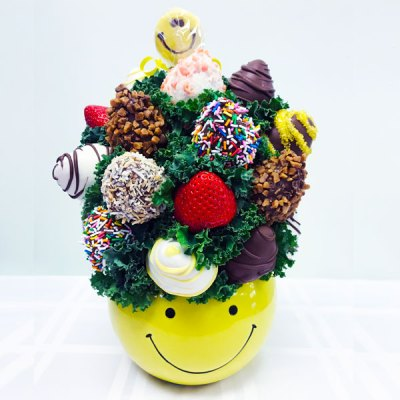 Just Smile - Yellow - Orchard Berry Arrangements
