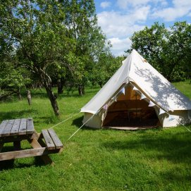 Swan Bell Tent