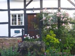 Picturesque village houses