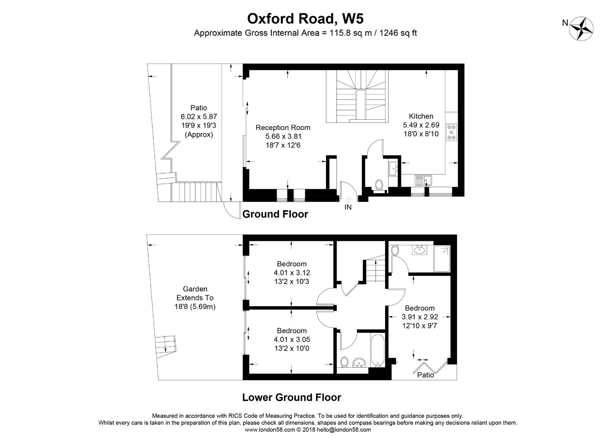 House For Sale in Oxford Road, Ealing, W5