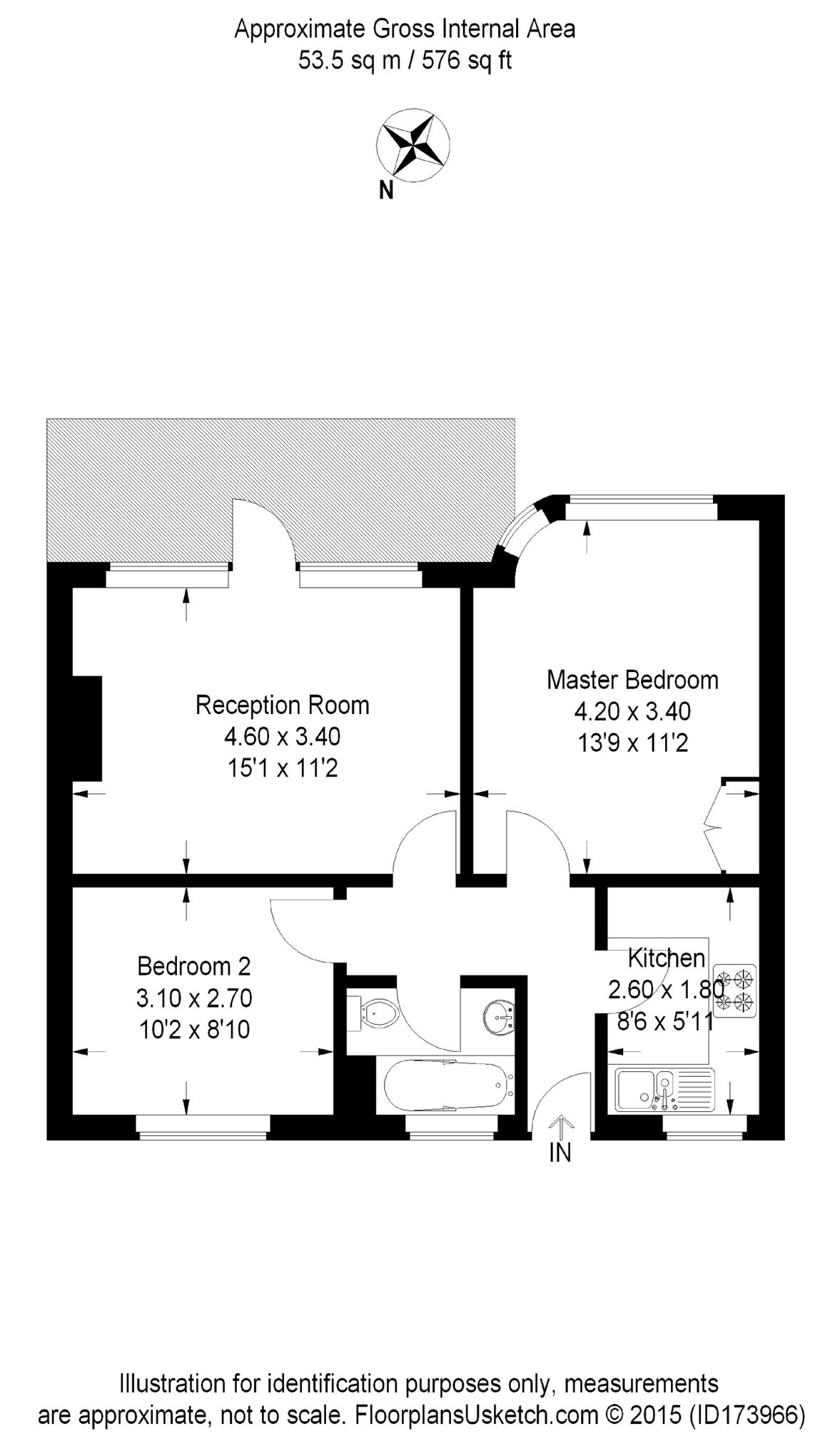 Flat To Rent in Melville Court, Goldhawk Road, W12