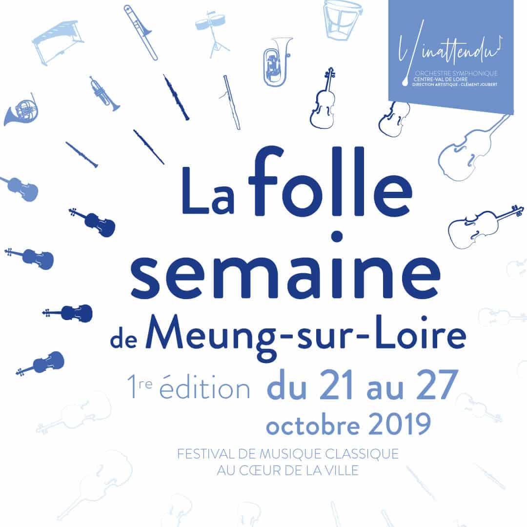 Festival de musique classique à Meung-sur-Loire du 21 au 27 octobre 2019