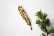 Fern leaf Bobby Pin