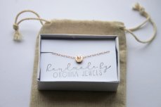 Rose gold horseshoe bracelet