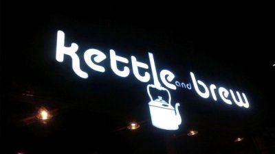 Kettle and Brew LED ACP Signage