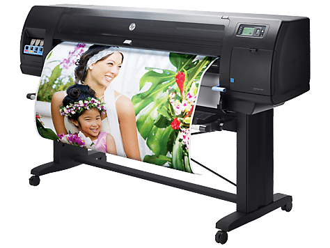 canvas printing on hi res inkjet printer