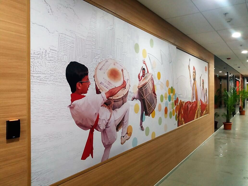wall murals which can be printed and fixed in homes