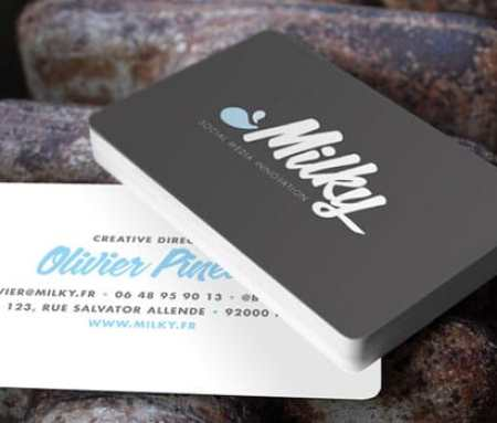 back to back visiting card printing with rounded corners