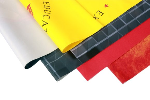 satin cloth material for printing of college research posters and charts