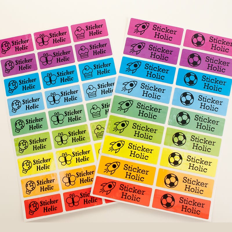 Sticker sheets size 12 X 18 inches Image
