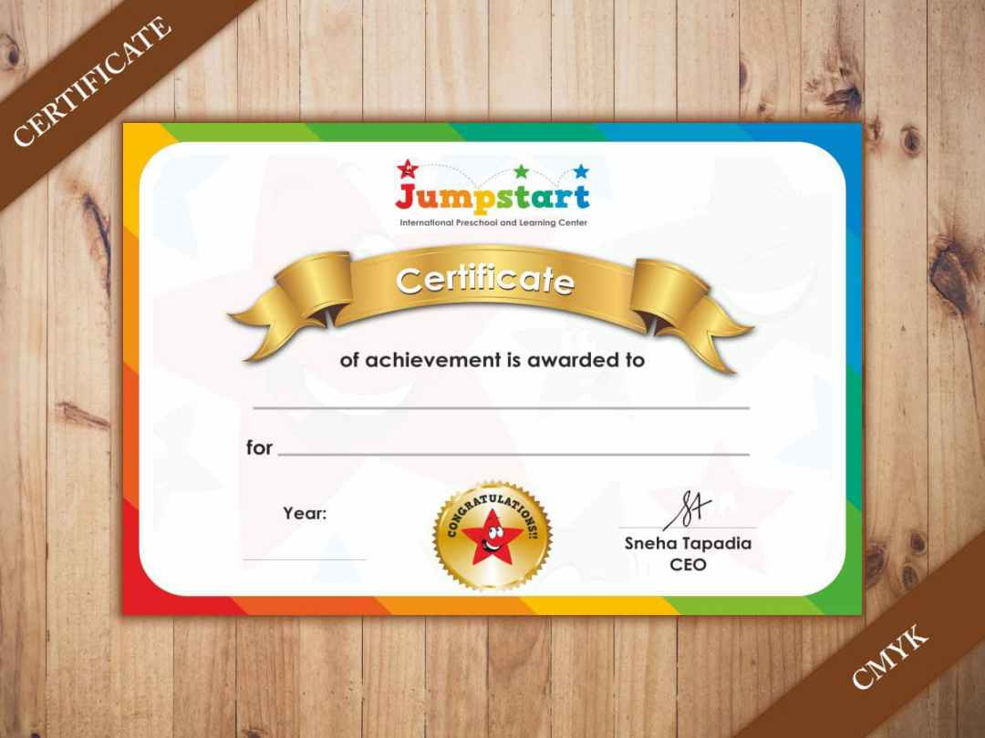 certificate printing options at orchiddigitals pune