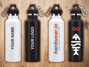 bottle printing on sippers makes for an ideal gift