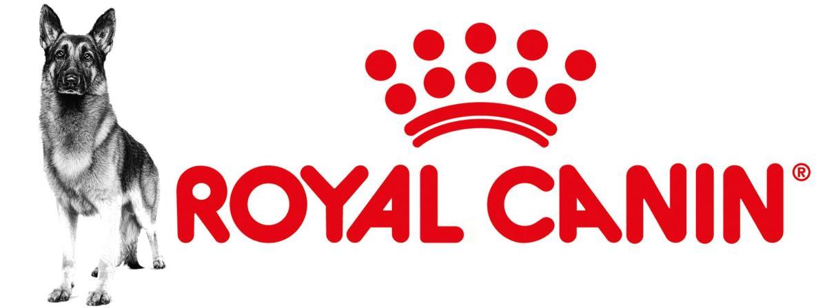 royal canin logo with dog pic