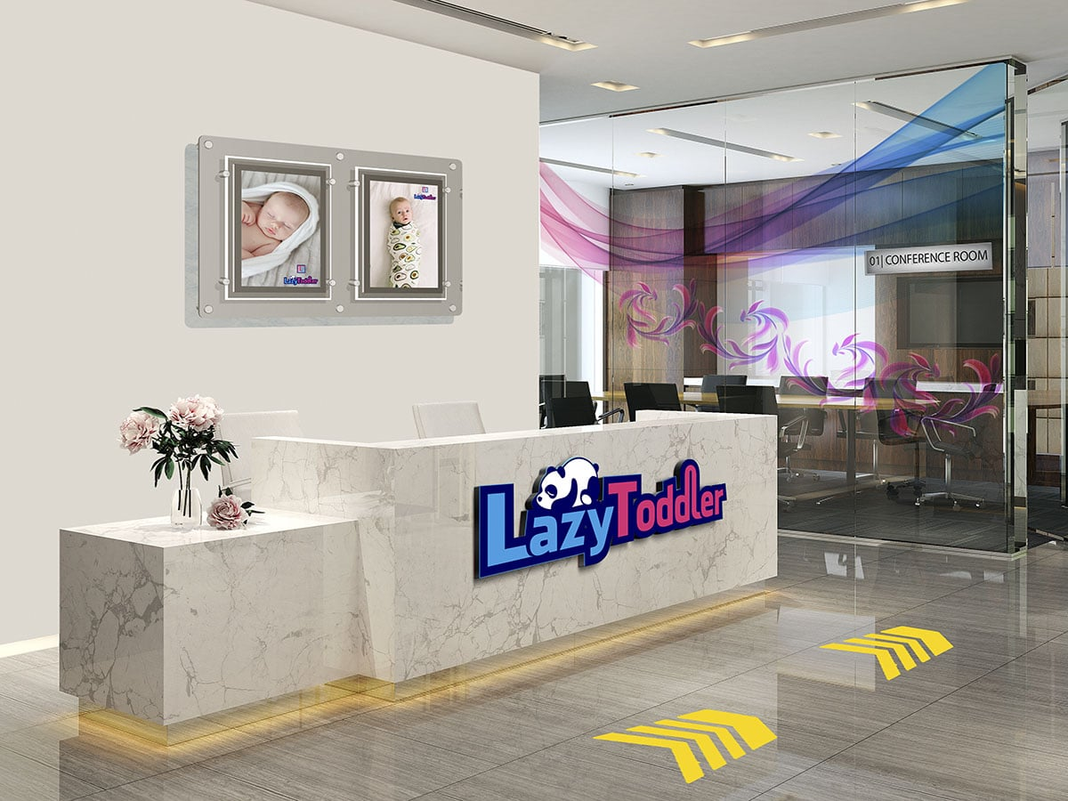 Ideas for office interiors design involve the use of laser cut acrylic logo boards poster panels glass partition prints floor stickers and employee name plates to enhance the look of your workplace