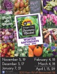 Pick up a winter market schedule at the Info Booth!