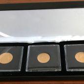 Coffret pièces Napoléon