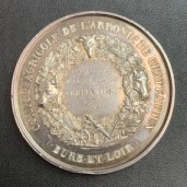 Médaille Argent Comice Agricole 1858