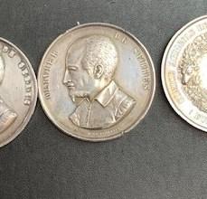 Médailles en Argent du Comice Agricole Eure et Loire