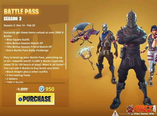 Fortnite Season 2 Battle Pass Neogaf