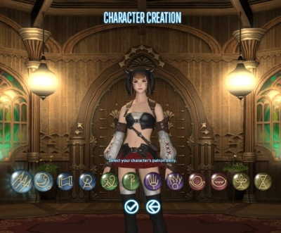 FFXIV ARR Menphina The Video Games Wiki
