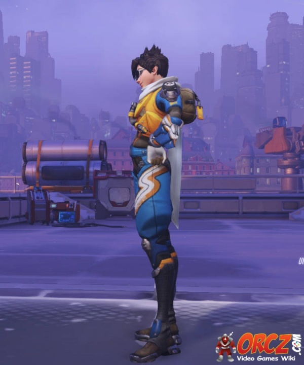 Overwatch Tracer Slipstream Skin  Orczcom The Video Games Wiki