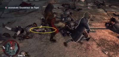 Assassins Creed IV Kill De Fayet With The Branding Iron The Video Games Wiki