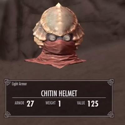 Skyrim Dragonborn Chitin Helmet  Orczcom The Video