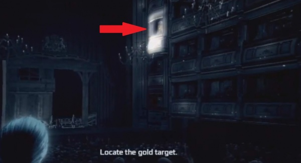 Assassins Creed III Locate The Gold Target