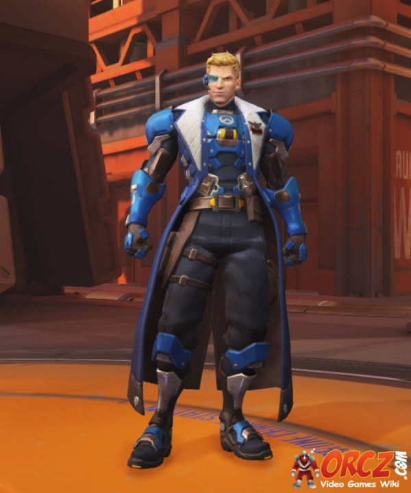 Overwatch Soldier 76 Strike Commander Morrison Skin The Video Games Wiki