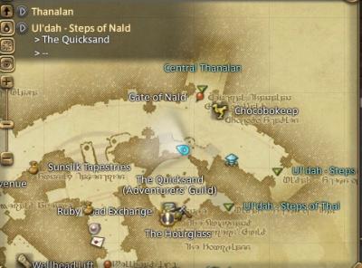 FFXIV ARR Uldah Steps Of Nald The Video