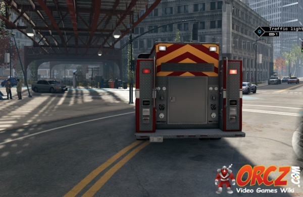 Watch Dogs Fire Truck Orcz Com The Video Games Wiki
