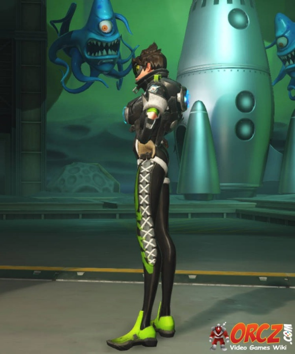 Overwatch Tracer Sporty Skin  Orczcom The Video Games Wiki