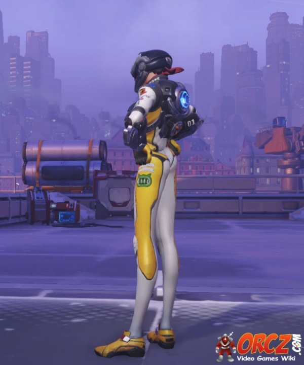 Overwatch Tracer T Racer Skin  Orczcom The Video Games Wiki