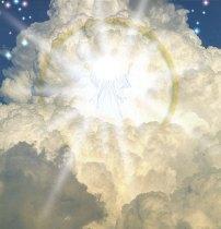 Jesus kommer på skyen for å hente sin brud