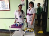 Enfermeras en Hogar Nazareth
