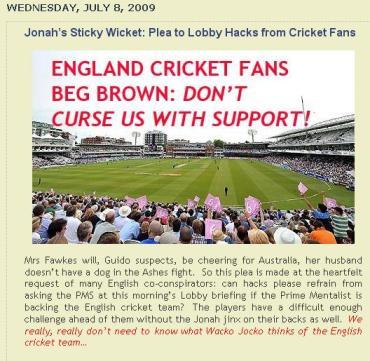 lobby cricket