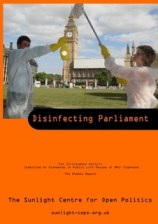 disinfect parliament