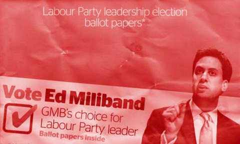 GMB Red Ed Ballot Paper