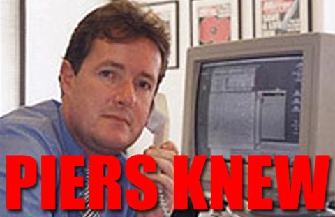 Piers Morgan Knew of Hacked Scoops