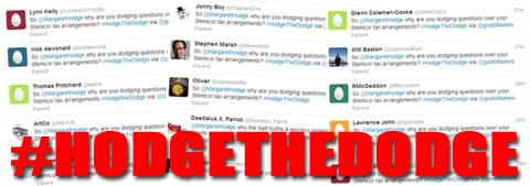 Tweet #HodgetheDodge