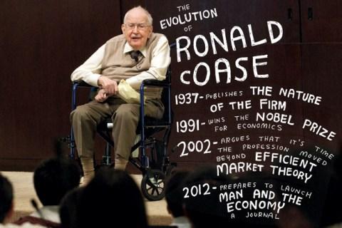 Ronald Coase Obituary