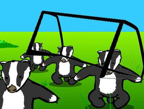 badger-goalposts