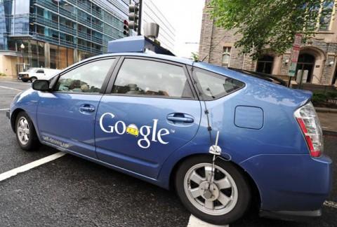 google driverless cart