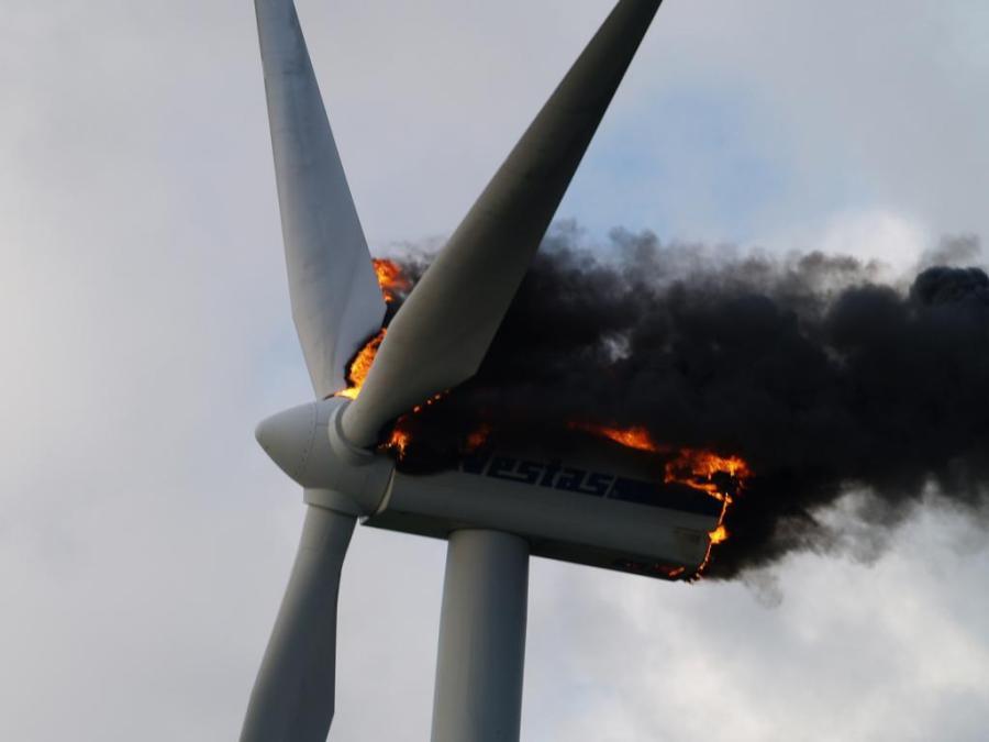 turbine fire