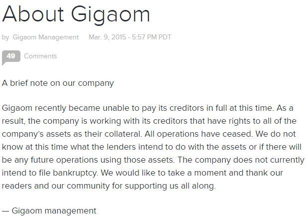 gigaom closing