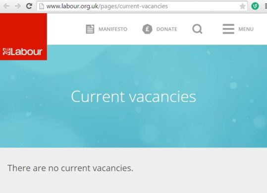 labour vacancies