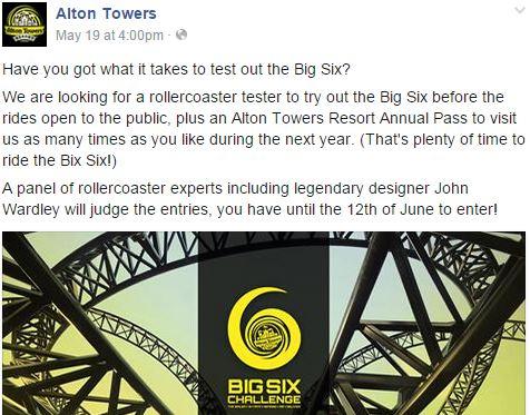 alton towers tester