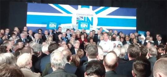David Cameron ConservativesIN