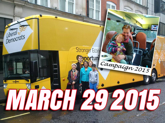 lib dem battle bus
